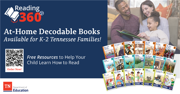 At-Home Decodable Books for K-2 Families
