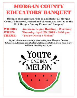 Morgan County Educators' Banquet