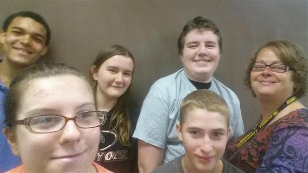 Mrs. Tammy Trent's 1st Period class at Sunbright had Perfect Attendance September 4-7.