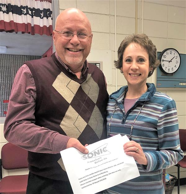 October 2018 Teacher of the Month Grades 6-8